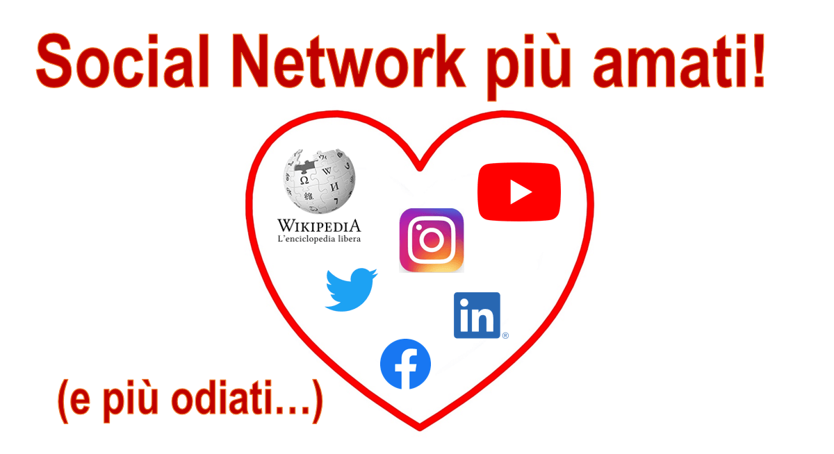 Social network più amati dagli utenti